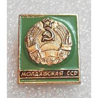 Значок. Молдавская СССР #0777