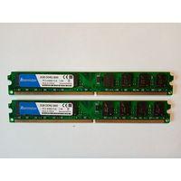 Память DDR2 2X2Gb