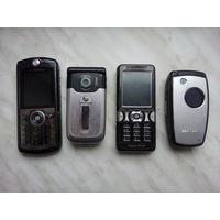 Старые телефоны за все