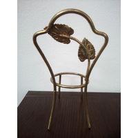 Стульчик декоративный бронза или латунь, 13 см