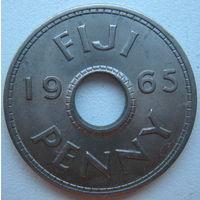 Фиджи 1 пенни 1965 г.