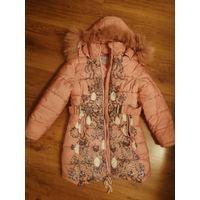 Куртка зима 7-8 лет