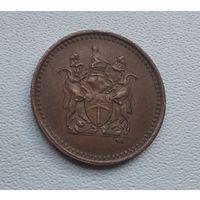 Родезия 1 цент, 1970 1-4-5