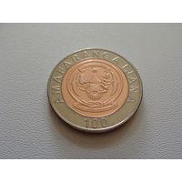 Руанда. 100 франков 2007 год KM#32