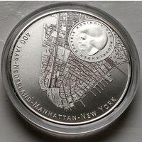 Нидерланды 5 евро, 2009 400 лет Манхэттену  2-14-5