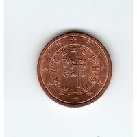 2 евроцента Португалия 2012