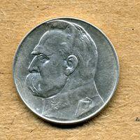 10 злотых 1937 г. (Пилсудский)