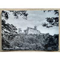 Вид замка Вартбург. Германия. 1963 г. Чистая.