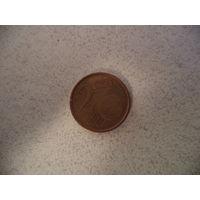 2 евроцента 2002 Италия