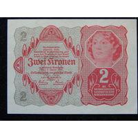 Австрия 2 кроны 1922 г UNC
