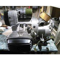 Мотор с коробкой мотоцикла Днепр МТ 10-36.