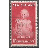 Новая Зеландия. Принцесса Анна. 1952г. Mi#319.