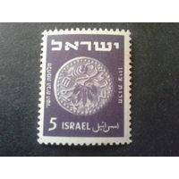 Израиль 1950 монета 5