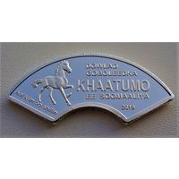 """Сомалийское государство Хатумо. 1000 шиллингов 2019 год """"Жирафы и лошадь"""" Unusual Новинка!!!"""