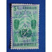 Венесуэла 1953 г.  Герб.