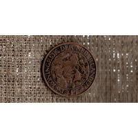 Нидерланды 1 цент 1917 /(М*)