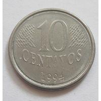 Бразилия 10 сентаво 1994