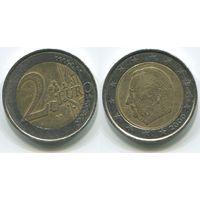 Бельгия. 2 евро (2000)