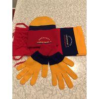 Шапка, шарф и перчатки зимние в комплекте из Венесуэлы