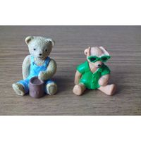 Мишки Тедди: Gordon, Paul The Beach Bear (пляжный медведь Teddy Bear, Teddy in my pocket (Orsetti tascabili), PICNIC SET (Pic-Nic Set) 1995г. M.E.G. (Vivid Imaginations, GIG, Kellogg's) Возможен обмен