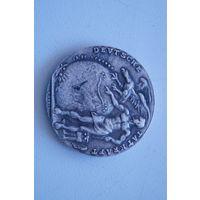 Старая монетка 1924,  копия, 34 мм