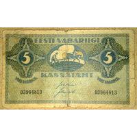 Эстония 5 марок 1919г