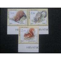Хорватия 2003 фауна полная серия