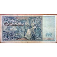 Германия, 100 марок 1910 год, Р42.