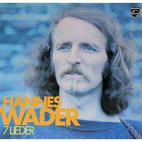 0180. Hannes Wader. 7 lieder. 1972. Philips = 13$