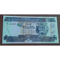 Соломоновы острова. 5 долларов - состояние!