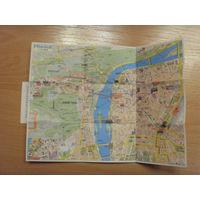 Карта (план) Праги