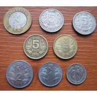 Индия. Набор монет