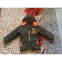 Куртка Деми р.110-122