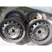 Диски колесные стальные R15 pcd5x108 dia50 комплект