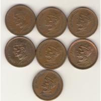 1 рупия 1998, 1999, 2000, 2001, 2002, 2003, 2004 г