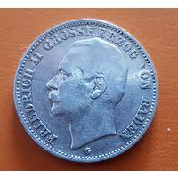 3 Марки Баден Baden 1908