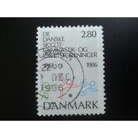 Дания 1986 пиктограмма