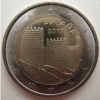 Испания 2 евро 2019 г. ЮНЕСКО - Авила