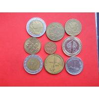 Монетки. С 1 рубля