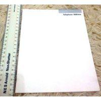 Телефонно-адресная книга-блокнот. Выпущена для США.