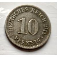 Германия 10 пфеннигов, 1911 A - Берлин 2-1-36