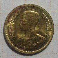 Тайланд 10 сатанг 1950г ( алюминиевая бронза.)
