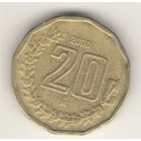 20 сентаво 2000 г.
