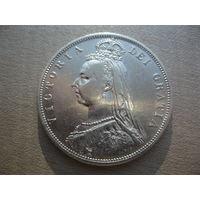 1/2 кроны 1887 г.