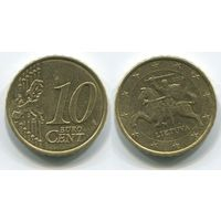 Литва. 10 евроцентов (2015)