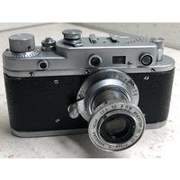 Фотоаппарат Зоркий-С 1956 г. с выдвижным объективом Индустар-22 ранний с гравированным названием