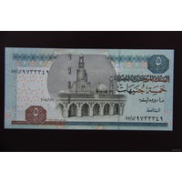 Египет 5 фунтов 2004 UNC