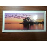 Австралия  Сидней Панорама Оперный театр ПК чистая