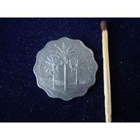 Монета 10 филсов, Ирак, 1981 г.