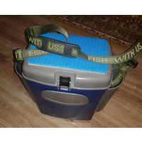 Ящик для рыбалки Аэлита спорт с двумя боковыми карманами